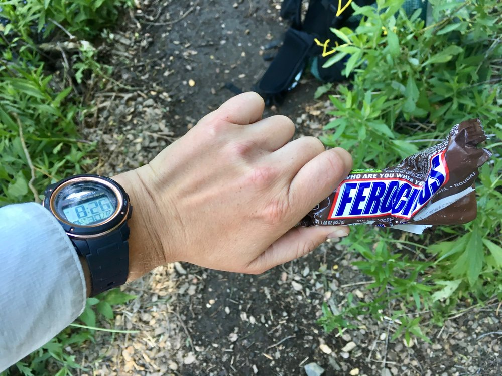 8:26am Snickers timestamp.